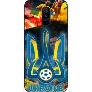 Силиконовый чехол Remax Samsung A605 Galaxy A6 Plus 2018 UA national team