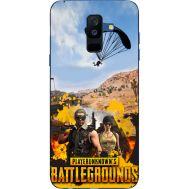 Силиконовый чехол Remax Samsung A605 Galaxy A6 Plus 2018 Pubg parachute