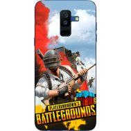Силиконовый чехол Remax Samsung A605 Galaxy A6 Plus 2018 PLAYERUNKNOWN'S BATTLEGROUNDS