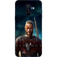 Силиконовый чехол Remax Samsung A605 Galaxy A6 Plus 2018 Vikings