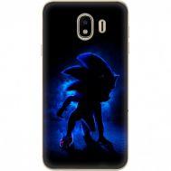 Силиконовый чехол Remax Samsung J400 Galaxy J4 2018 Sonic Black