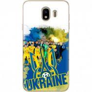 Силиконовый чехол Remax Samsung J400 Galaxy J4 2018 Ukraine national team