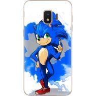 Силиконовый чехол Remax Samsung J260 Galaxy J2 Core Sonic Blue