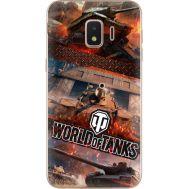 Силиконовый чехол Remax Samsung J260 Galaxy J2 Core World Of Tanks