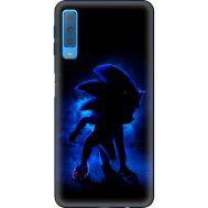 Силиконовый чехол Remax Samsung A750 Galaxy A7 2018 Sonic Black