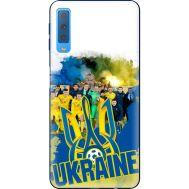 Силиконовый чехол Remax Samsung A750 Galaxy A7 2018 Ukraine national team