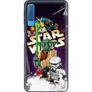 Силиконовый чехол Remax Samsung A750 Galaxy A7 2018 Lego StarWars