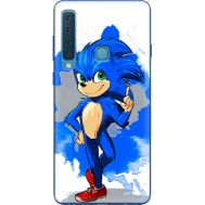 Силиконовый чехол Remax Samsung A920 Galaxy A9 2018 Sonic Blue