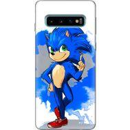 Силиконовый чехол Remax Samsung G973 Galaxy S10 Sonic Blue