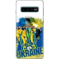 Силиконовый чехол Remax Samsung G973 Galaxy S10 Ukraine national team