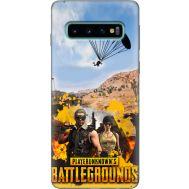 Силиконовый чехол Remax Samsung G973 Galaxy S10 Pubg parachute