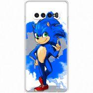 Силиконовый чехол Remax Samsung G975 Galaxy S10 Plus Sonic Blue