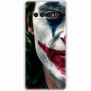 Силиконовый чехол Remax Samsung G975 Galaxy S10 Plus Joker Background