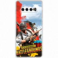 Силиконовый чехол Remax Samsung G975 Galaxy S10 Plus PLAYERUNKNOWN'S BATTLEGROUNDS