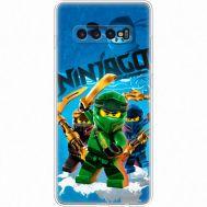 Силиконовый чехол Remax Samsung G975 Galaxy S10 Plus Lego Ninjago