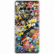 Силиконовый чехол Remax Samsung G975 Galaxy S10 Plus CS:Go Stickerbombing