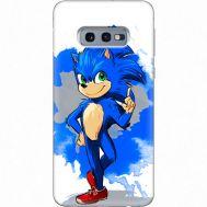 Силиконовый чехол Remax Samsung G970 Galaxy S10e Sonic Blue