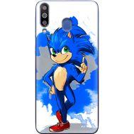 Силиконовый чехол Remax Samsung M305 Galaxy M30 Sonic Blue