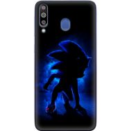 Силиконовый чехол Remax Samsung M305 Galaxy M30 Sonic Black