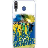 Силиконовый чехол Remax Samsung M305 Galaxy M30 Ukraine national team