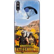 Силиконовый чехол Remax Samsung M305 Galaxy M30 Pubg parachute