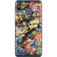 Силиконовый чехол Remax Samsung M305 Galaxy M30 CS:Go Stickerbombing