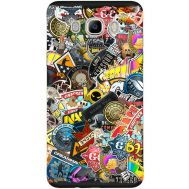 Силиконовый чехол Remax Samsung J510 Galaxy J5 2016 CS:Go Stickerbombing