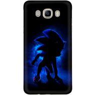 Силиконовый чехол Remax Samsung J710 Galaxy J7 2016 Sonic Black