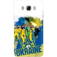 Силиконовый чехол Remax Samsung J710 Galaxy J7 2016 Ukraine national team