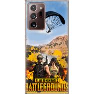 Силиконовый чехол Remax Samsung N985 Galaxy Note 20 Ultra Pubg parachute