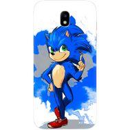 Силиконовый чехол Remax Samsung J530 Galaxy J5 2017 Sonic Blue