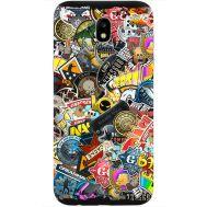 Силиконовый чехол Remax Samsung J530 Galaxy J5 2017 CS:Go Stickerbombing