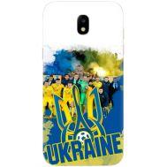 Силиконовый чехол Remax Samsung J730 Galaxy J7 2017 Ukraine national team