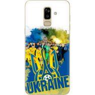 Силиконовый чехол Remax Samsung J810 Galaxy J8 2018 Ukraine national team