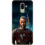 Силиконовый чехол Remax Samsung J810 Galaxy J8 2018 Vikings