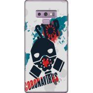 Силиконовый чехол Remax Samsung N960 Galaxy Note 9 Stop coronavirus