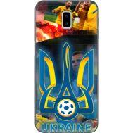 Силиконовый чехол Remax Samsung J610 Galaxy J6 Plus 2018 UA national team