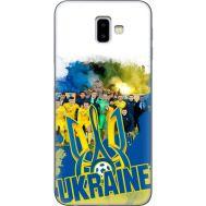 Силиконовый чехол Remax Samsung J610 Galaxy J6 Plus 2018 Ukraine national team