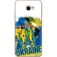 Силиконовый чехол Remax Samsung J415 Galaxy J4 Plus 2018 Ukraine national team