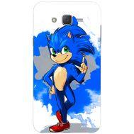 Силиконовый чехол Remax Samsung J500H Galaxy J5 Sonic Blue