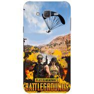 Силиконовый чехол Remax Samsung J500H Galaxy J5 Pubg parachute