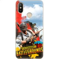 Силиконовый чехол Remax Xiaomi Mi 6X / A2 PLAYERUNKNOWN'S BATTLEGROUNDS