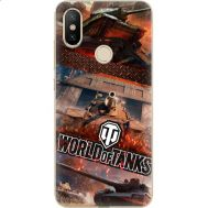 Силиконовый чехол Remax Xiaomi Mi 6X / A2 World Of Tanks