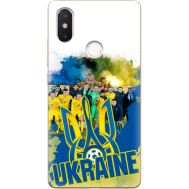Силиконовый чехол Remax Xiaomi Mi 8 SE Ukraine national team