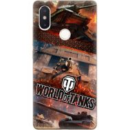 Силиконовый чехол Remax Xiaomi Mi 8 SE World Of Tanks