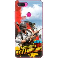 Силиконовый чехол Remax Xiaomi Mi 8 Lite PLAYERUNKNOWN'S BATTLEGROUNDS