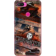 Силиконовый чехол Remax Xiaomi Mi 8 Lite World Of Tanks