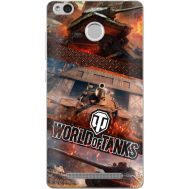 Силиконовый чехол Remax Xiaomi Redmi 3s World Of Tanks
