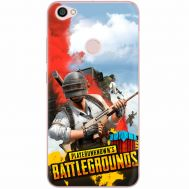 Силиконовый чехол Remax Xiaomi Redmi Note 5A Prime PLAYERUNKNOWN'S BATTLEGROUNDS