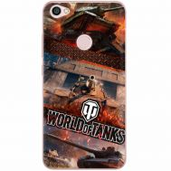 Силиконовый чехол Remax Xiaomi Redmi Note 5A Prime World Of Tanks